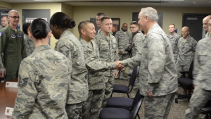 CSAF talks with Guard, Reserve component at Tinker