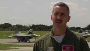 Air Force Report: Wisconsin Air National Guard Visits Kadena Air Base