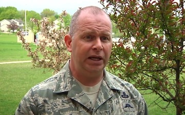 Director of the Air National Guard and Command Chief Master Sergeant of the Air National Guard make rare joint appearance in Iowa