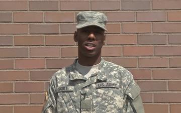PV1 Carlos Scott Jr.