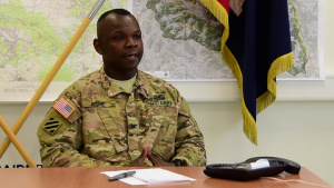COL Robert Ashe, 1st Brigade, 3rd Infantry Division Commander