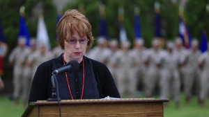 Third MAW Marines Honor Military Spouses