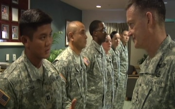 General Allyn Visits Fort Bliss