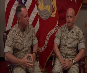 LOGCOM CG, SgtMaj. Bid Farewell to Command