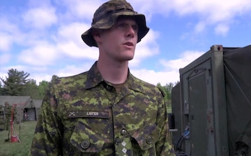 U.S. and Canadian Soldiers Train at Fort Drum