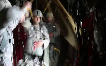 KFOR jumps from C-130