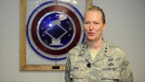 AF 1st Sgt Academy Change of Command