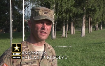 COL John V. Meyer III Romania Social Media Clip
