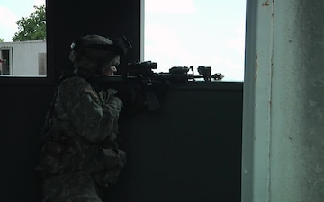 Alpha Company 2-153rd Conducts Urban Operations Training