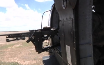 1AD CAB Conducts UH-60 Ariel Gunnery