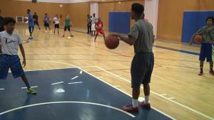 Yoko Express Holds Youth Basketball Camp on Yokosuka Naval Base