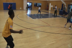 Yoko Express Basketball Holds Youth Basketball Camp on Yokosuka Naval Base