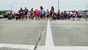 MCAS Iwakuni residents celebrate Independence Day with a fun run