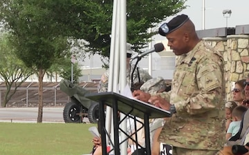 1st Brigade, 1st Armored Division Change of Command