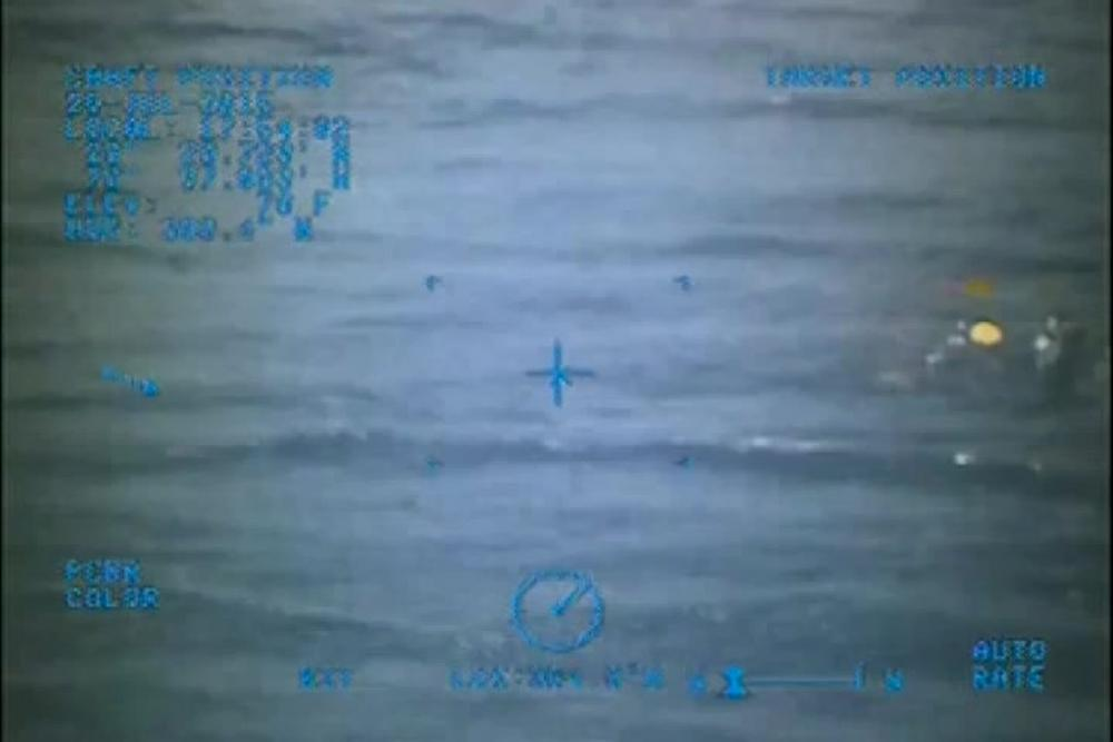 Dvids Video Coast Guard Finds Capsized Boat In Search For Missing Teens