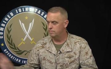 Marine Corps Brigadier General Kevin J. Killea