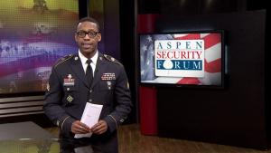 Votel Talks Global Security