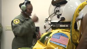 Secretary James Visits Beale Air Force Base