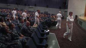 Pacific Report - US Fleet Cyber Command visits Yokosuka