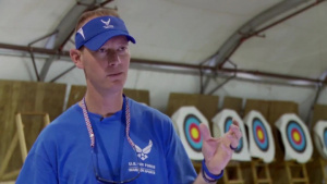 Air Force Report: Wounded Warrior Archer