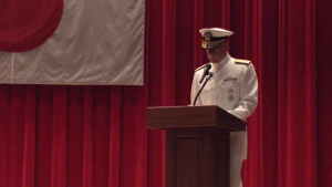 Vice Admiral Aucoin Takes Command of U.S. 7th Fleet