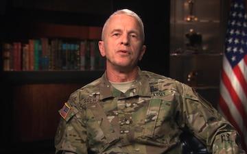 Deputy Chief of Chaplains (Brigadier General) Thomas Solhjem