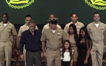 Newport Region Chief Petty Officer Pinning Ceremony