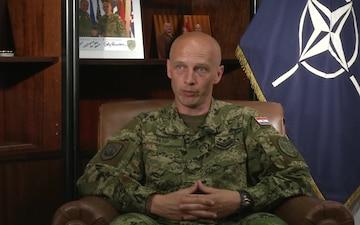 Senior Enlisted Leader Challenges Troops