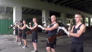 Marine Corps Silent Drill Platoon - Cpl. Jonathan Hernandez