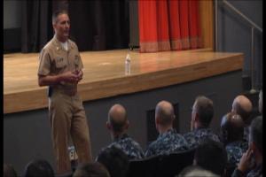 Pacific Update: CNO Visits Yokosuka Naval Base