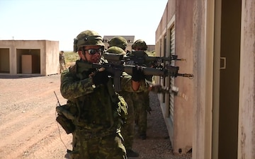 Canadian Soldiers Participate in Bold Quest 15.2