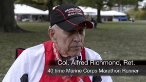 Ruby Run: 30,000 Runners Participate in 40th Marine Corps Marathon