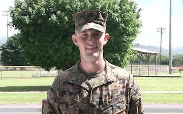 1st Lt. Samuel Pehl - AFN Holiday Greetings