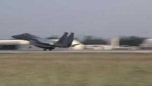 Six F-15C Eagles Arrive at Incirlik AB