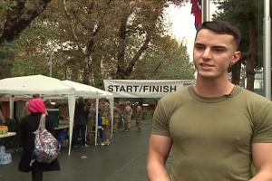 Marine Corps Birthday Run - Kabul, Afghanistan