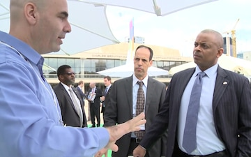 Secretary of Transportation Anthony Foxx surveys Israeli innovation in Tel Aviv