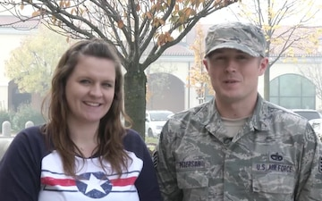 SSgt Lars Peterson and Family Send a Holiday Greeting