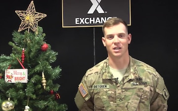 PFC Eric Ostgren Holiday Shoutouts