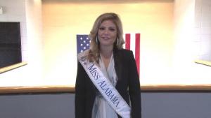Miss Alabama says Thank You