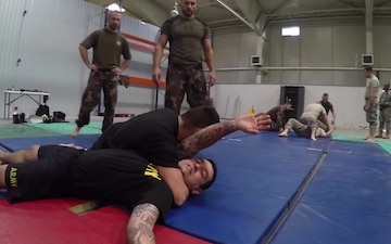 North Carolina National Guard Takes Part in Hungarian Combative Training