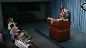 Pentagon Press Briefing - Col. Warren