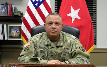 Thanksgiving Day Message from Brig. Gen. Jose R. Burgos, 1st MSC Commanding General