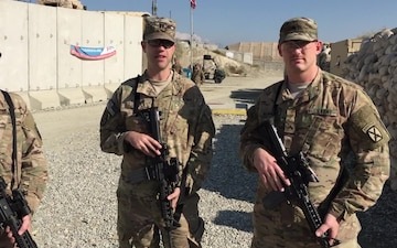 Thanksgiving Greetings from 10th Mountain Soldiers