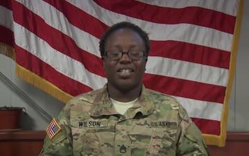 Staff Sgt. Virgia Wilson