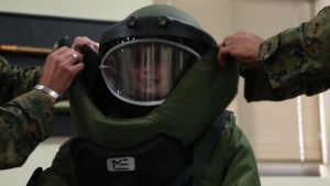 1st EOD Company Marines Make a Wish a Reality