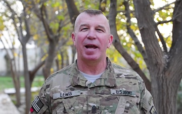 Command Sgt. Maj. R. Ray Lewis