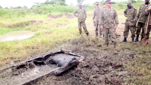 U.S. Marines, Ugandan Soldiers Improve Demolition Skills