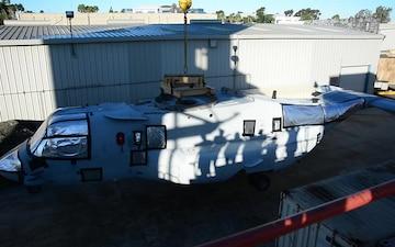 MV-22B Osprey Tiltrotor Aircraft Fuselage Delivery