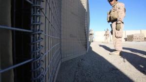 U.S. Marine Engineers Help Enhance Security at Camp Manion