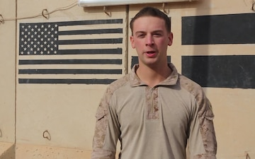 Holiday Shout Out: Lance Cpl. Josh Wade